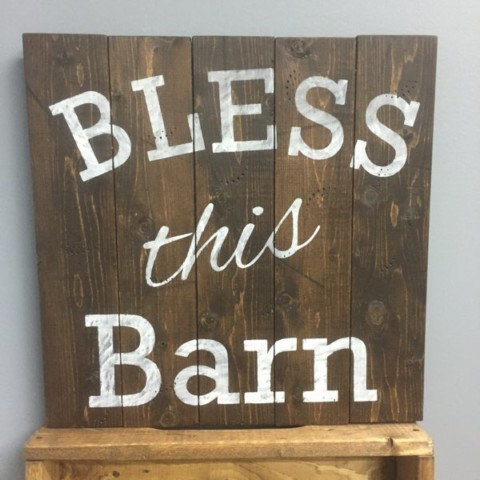 Bless This Barn