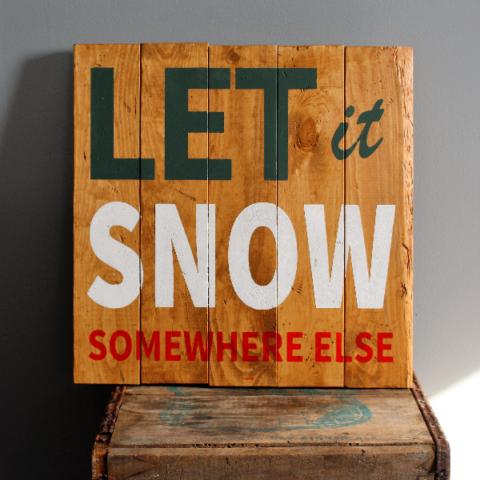 Snow Somewhere Else