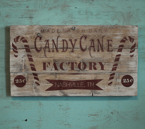 Candy Cane Factory