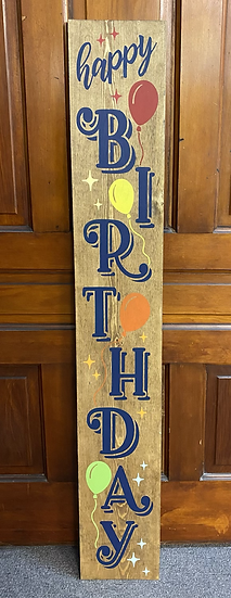 Seasonal Porch Sign
