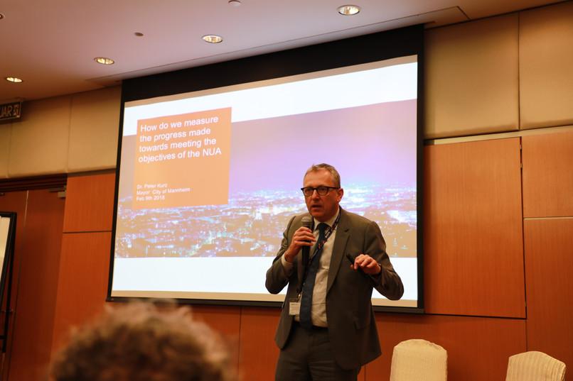 WUF9 Side Event | Mayor Peter Kurz