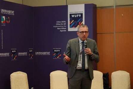 WUF9 Side Event   Mayor Peter Kurz