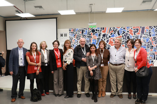 The speakers and some organisers of the Global Urban Futures Side Event.