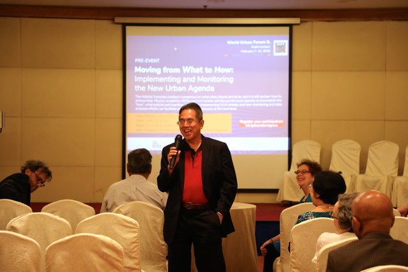 WUF9 Pre-Event   Audience introductions