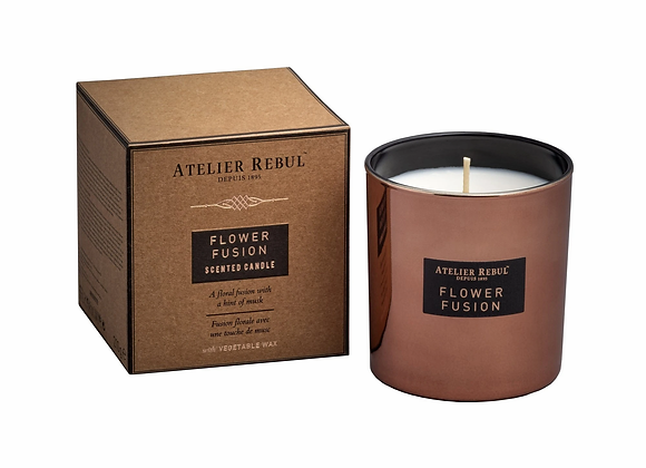 Flower fusion scented candle