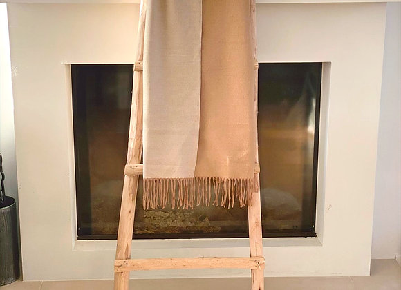 Sjaal effen met frengels