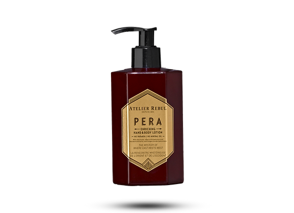 Pera enriching hand & body lotion