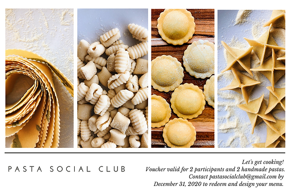 Handmade Pasta Class for Two