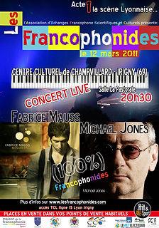 affiche festival francophonides 2011