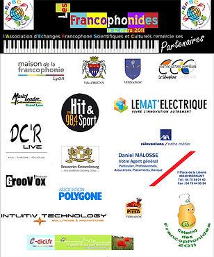 partenaires francophonides 2011