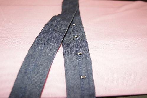 Крючки на джинсовой тесьме