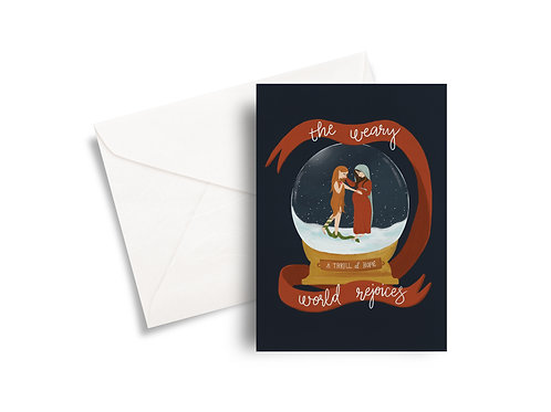 The Blessed Mother & Eve - Christmas Card