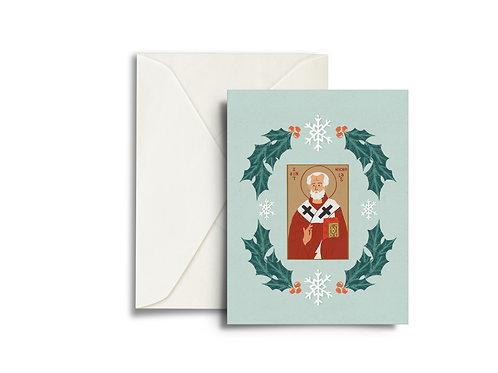 St. Nick - Christmas Card