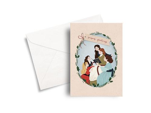 Little Women - Christmas Card