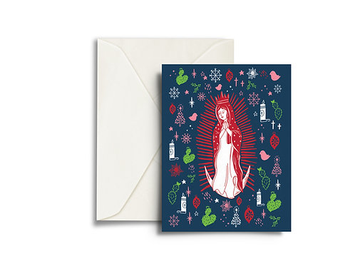 Our Lady of Guadalupe - Christmas Card
