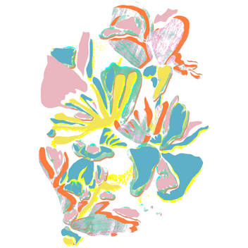 Texted Flower