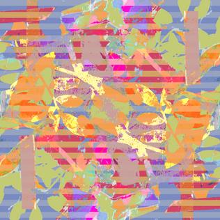 cyanotype 2 stripes