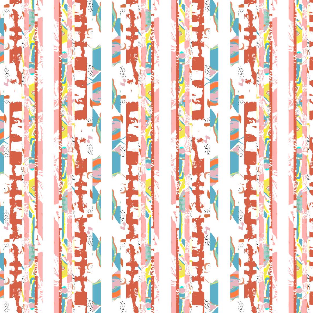 Patterned stripe