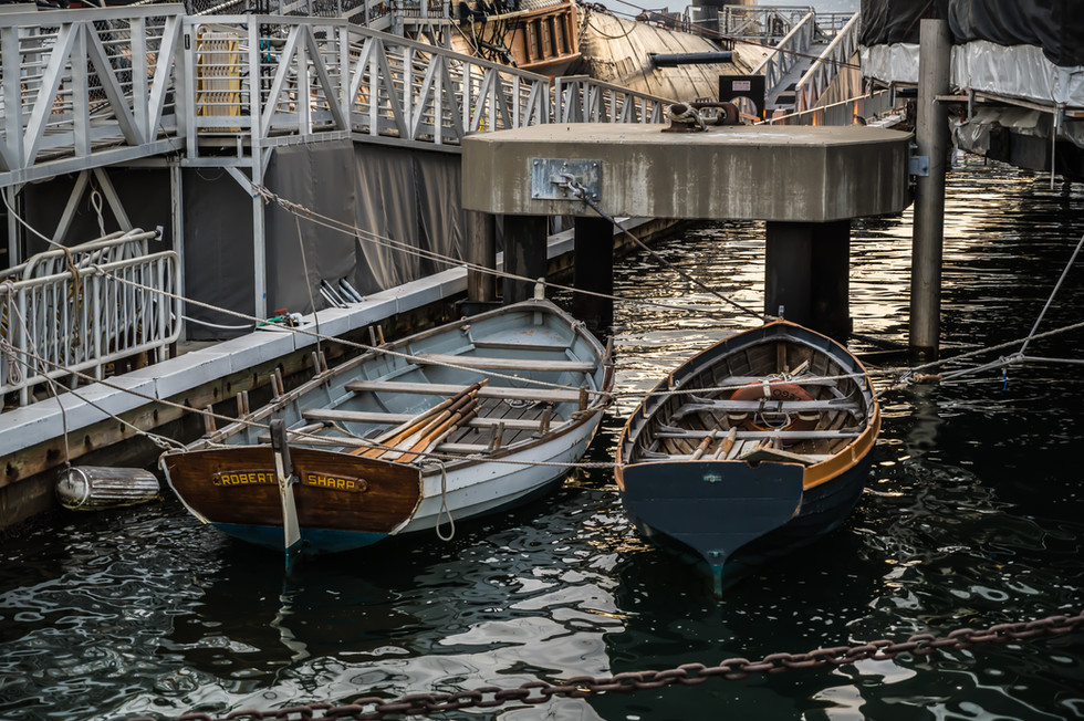 BOATS ON THE HARBOR