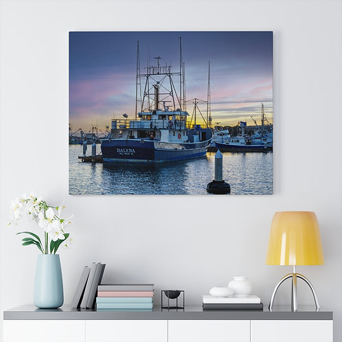Dalena on the Harbor - Canvas Gallery Wrap
