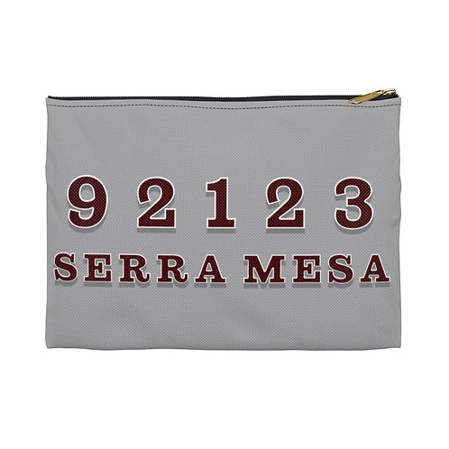 Serra Mesa - 92123 - Gray - Accessory Pouch