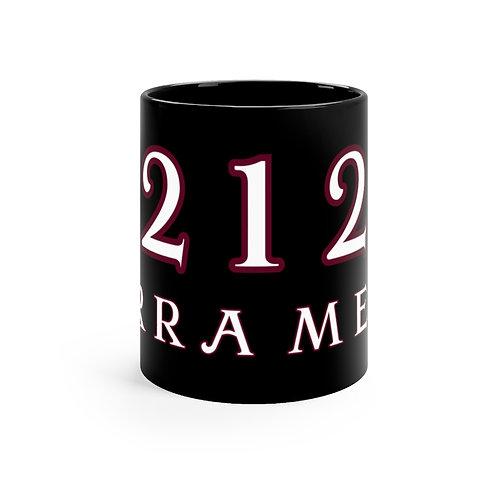 Serra Mesa 92123 - Black mug 11oz