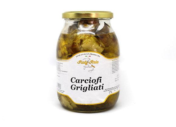 """""""CARCIOFI GRIGLIATI"""" Grilled Pickled Artichokes"""