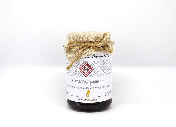 """MARMELLATA DI CILIEGIE"" Homemade Cherry Jam"