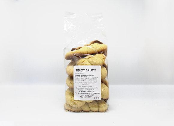 """BISCOTTI DA LATTE"" Dry Milk Biscuits"
