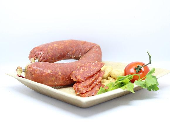 """""""SALAME PUGLIESE PICCANTE"""" Apulian Spicy Salami"""