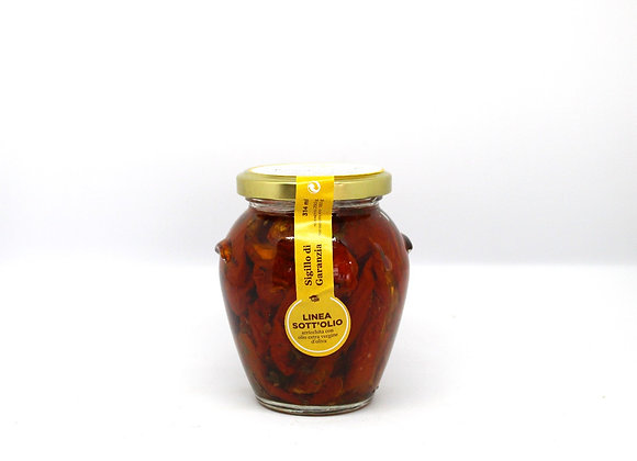 """POMODORI SECCHI""  Sun-Dried Pickled Tomatoes"