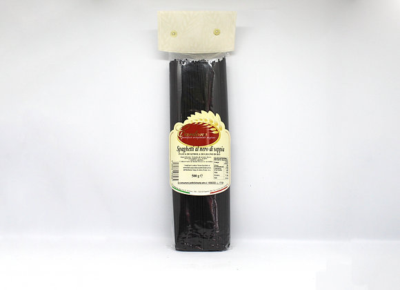 """""""SPAGHETTI AL NERO DI SEPPIA"""" Black Squid Spaghetti Pasta"""