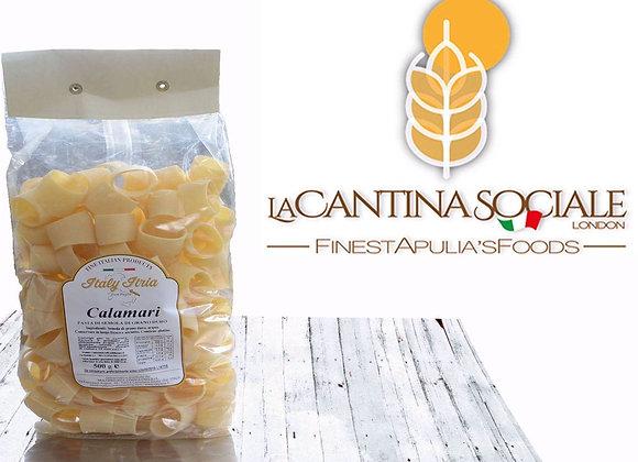 """CALAMARI - pasta di semola di grano duro"" italian durum wheat semolina pasta"