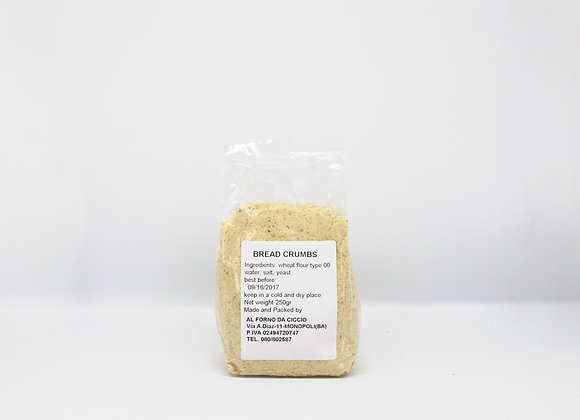 """PAN GRATTATO"" Bread Crumbs"
