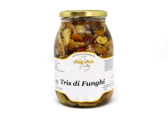 """""""TRIS DI FUNGHI"""" Mix Pickled Mushroom"""