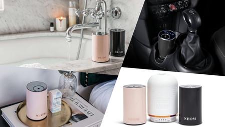 隨時都能療癒!小型空間量身打造『NEOM療癒香氛機MINI』,迷你外型、方便攜帶,也能作為車內擴香使用~