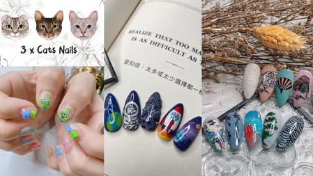 【弎貓 3xCats Nails】個性派風格下的反差熱情,目標打造貓咪友善的美甲空間