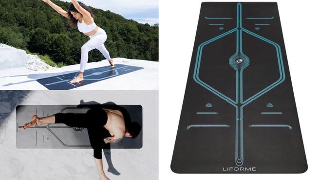 頂級耐用高級環保瑜珈墊!英國LIFORME『正位瑜珈墊』防滑、支撐好,做瑜伽也要優雅有質感~