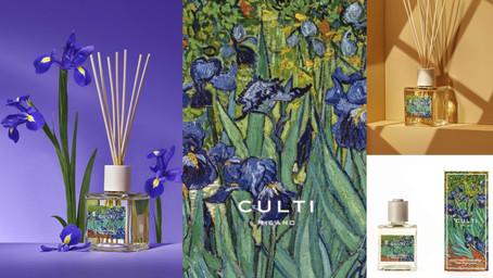 最藝術的香氛!CULTI MILANOX洛杉磯保羅·蓋蒂博物館『梵谷藍鳶擴香』,用溫柔平靜的香氣回到梵谷創作的那片紫色花海~