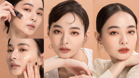 【美人養成】2021最新底妝!實現肌膚最令人嚮往的自然透明裸妝,打造薄透光澤的輕雪紡膚感~