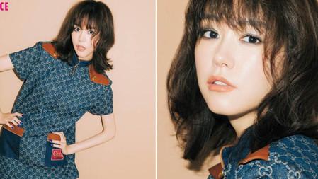 桐谷美玲使用她最心儀的日本未發售彩妝品上妝──本月為GUCCI!