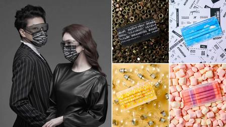 最時尚的防疫配件!李佑群老師口罩與防飛沫眼鏡聯名特別企劃!防疫也能超有質感、展現最Fashion的穿搭!