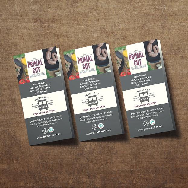 Tri-Fold leaflet - Primal Cut