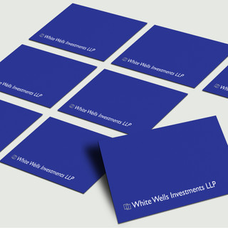 White Wells Investments LLP - Business Cards - Front