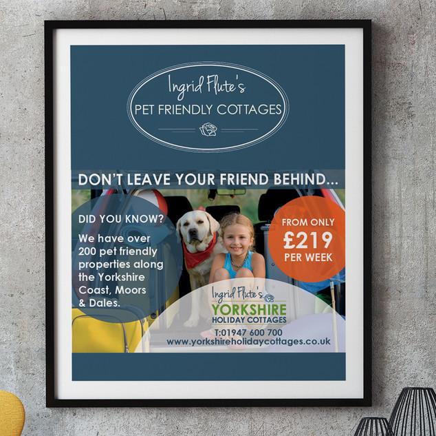 Ingrid Flute's Yorkshire Holiday - Advert
