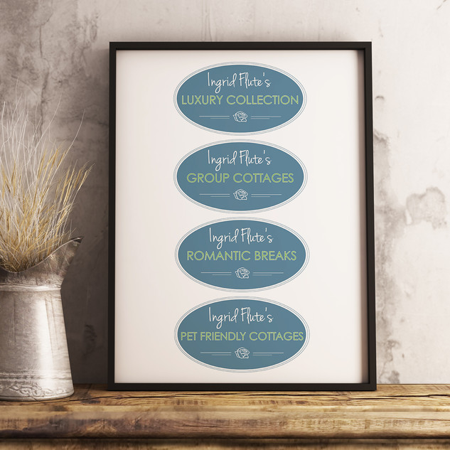 Ingrid Flute's Yorkshire Holiday Cottages - Collection Logos
