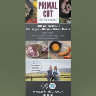Promotional Banner 1 - Primal Cut
