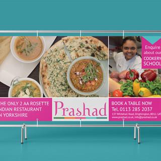 Prashad - Promotional Banner