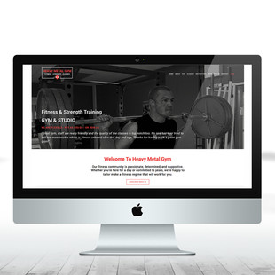 Heavy Metal Gym - home page