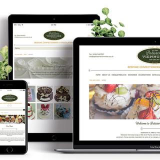 Patisserie Viennoise - Responsive Website